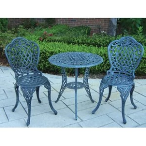 Wrought Iron Patio Bistro Set   Wayfair Save