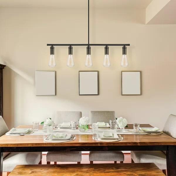 Chromeo 5 Light Kitchen Island Pendant Amp Reviews Birch Lane