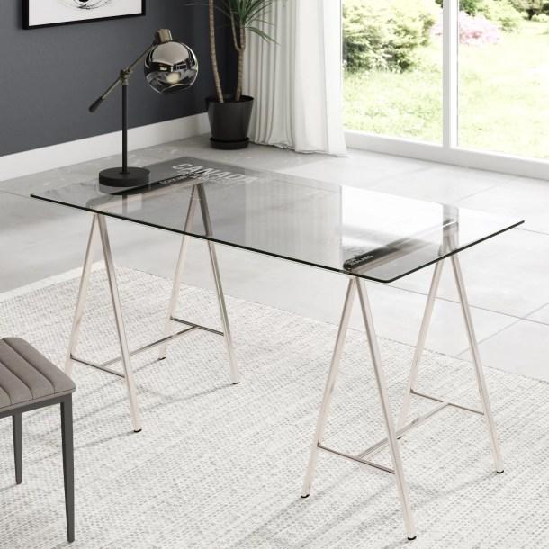Nemeth Glass Writing Desk