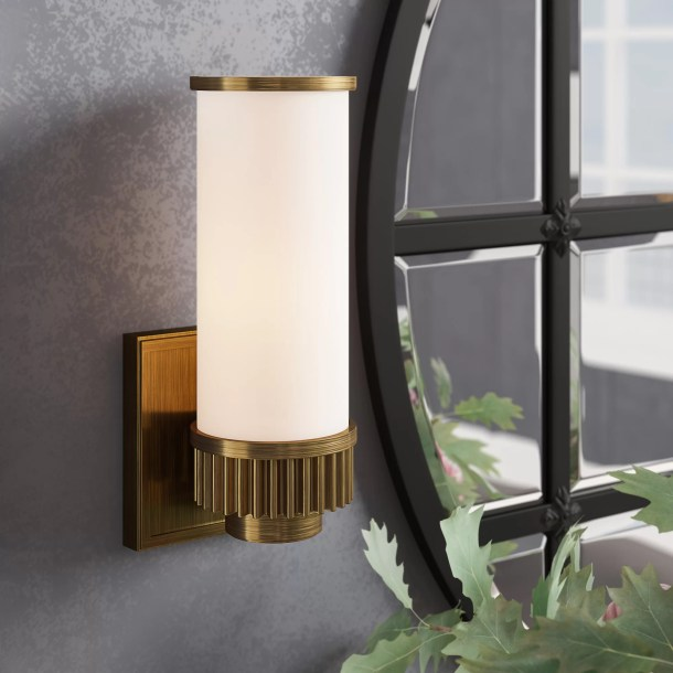 Jaylen 1-Light Armed Sconce