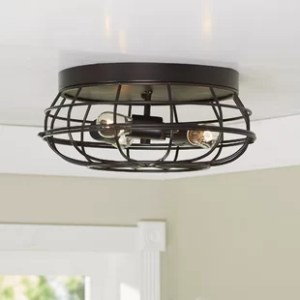 Flush Mount Led Ceiling Lights   Wayfair Save