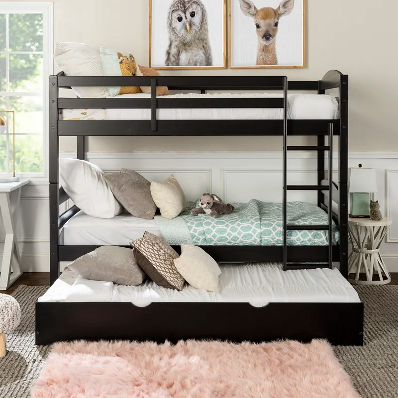 Abby Twin over Twin Bunk Bed with Trundle