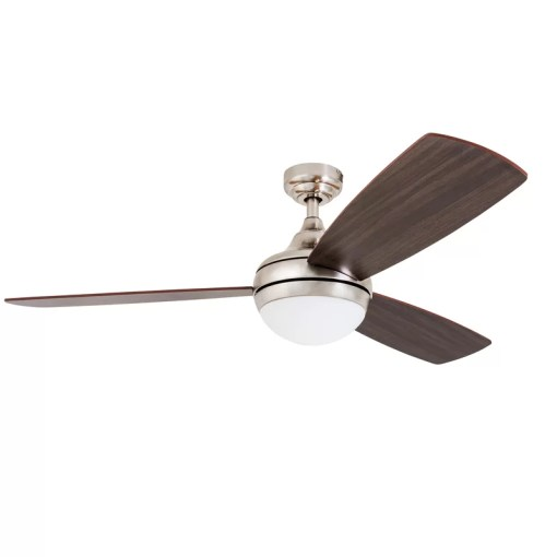 Wrought Studio 52  Alexa 3 Blade LED Ceiling Fan with Remote Control     52  Alexa 3 Blade LED Ceiling Fan with Remote Control