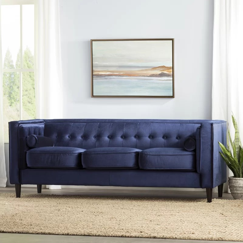 Willa Arlo Interiors Roberta Chesterfield Sofa   Reviews   Wayfair Roberta Chesterfield Sofa