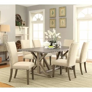 Elegant Dining Room Sets   Wayfair Athens 7 Piece Dining Set