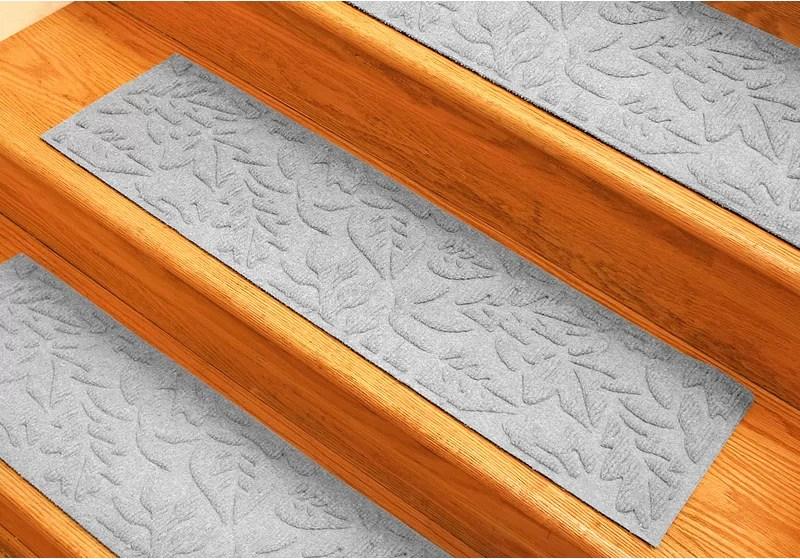 Tucker Murphy™ Pet Beaupre White Fall Day Stair Tread Reviews | Wayfair Carpet Stair Treads | Tucker Murphy | Carpet Runners | Oaks Godinez | Stair Railing | Beige Carpet