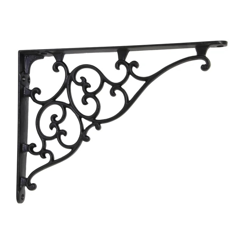 Mcglone Iron Shelf Bracket