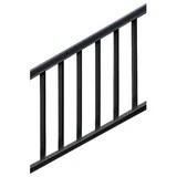 Modern Stair Railing Wayfair | Black Modern Stair Railing | Glass | Raised Ranch | Minimalist | Interior | Chris Loves