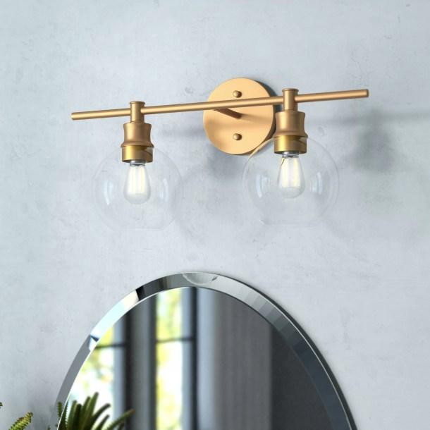 Drinkard 2-Light Dimmable Vanity Light