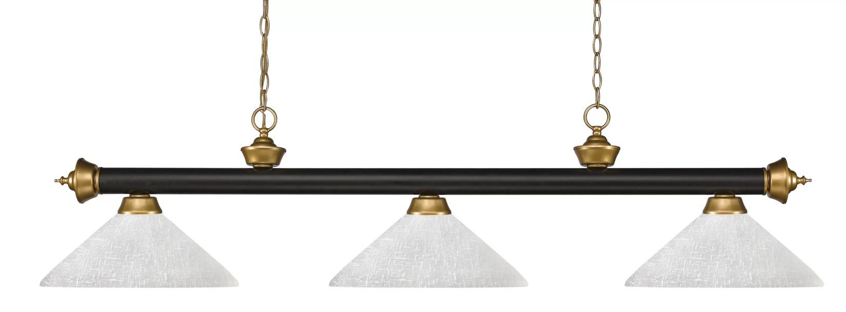 Brynlee 3 - Light Pool Table Lights Linear Pendant