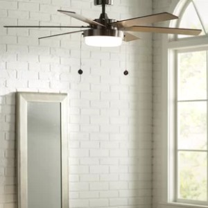 Ceiling Fan With Drum Light   Wayfair 52  Corsa 6 Blade LED Ceiling Fan