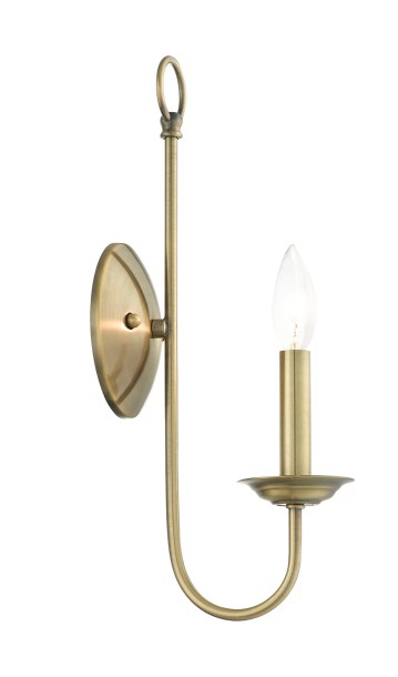Newby 1-Light Candle Wall Light