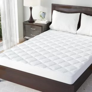 Mattress Pads   Toppers   Joss   Main Henry Down Alternative Mattress Pad