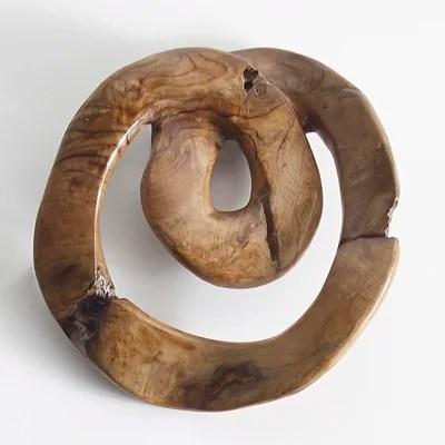 Cheap Teak Wood Swirl Wall Du00e9cor Furniture Online