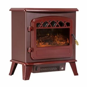 Amish Fireplace Heater   Wayfair Rey Free Standing Electric Fireplace Heater