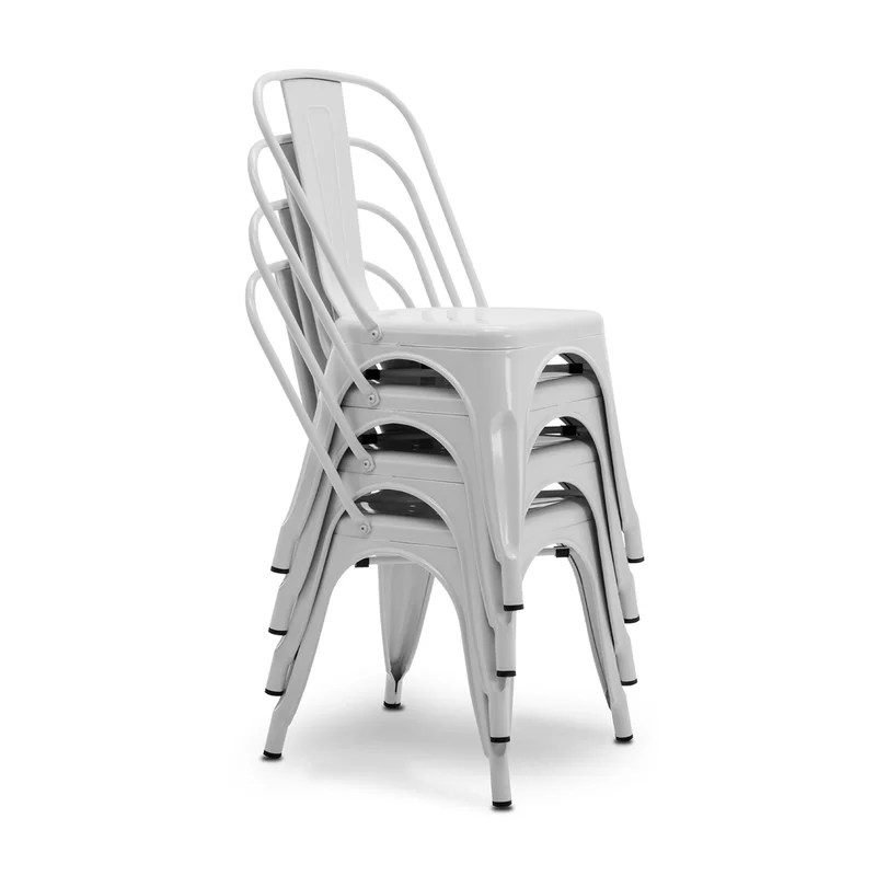 Mclea Stackable Side Chair (Set of 4)