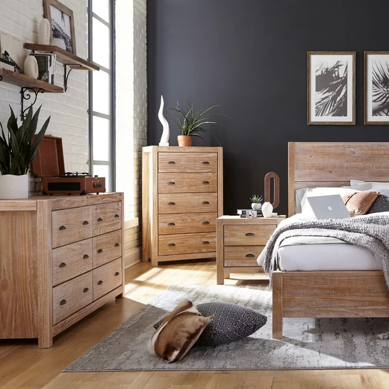 Montauk Standard 2 - Piece  Bedroom Set