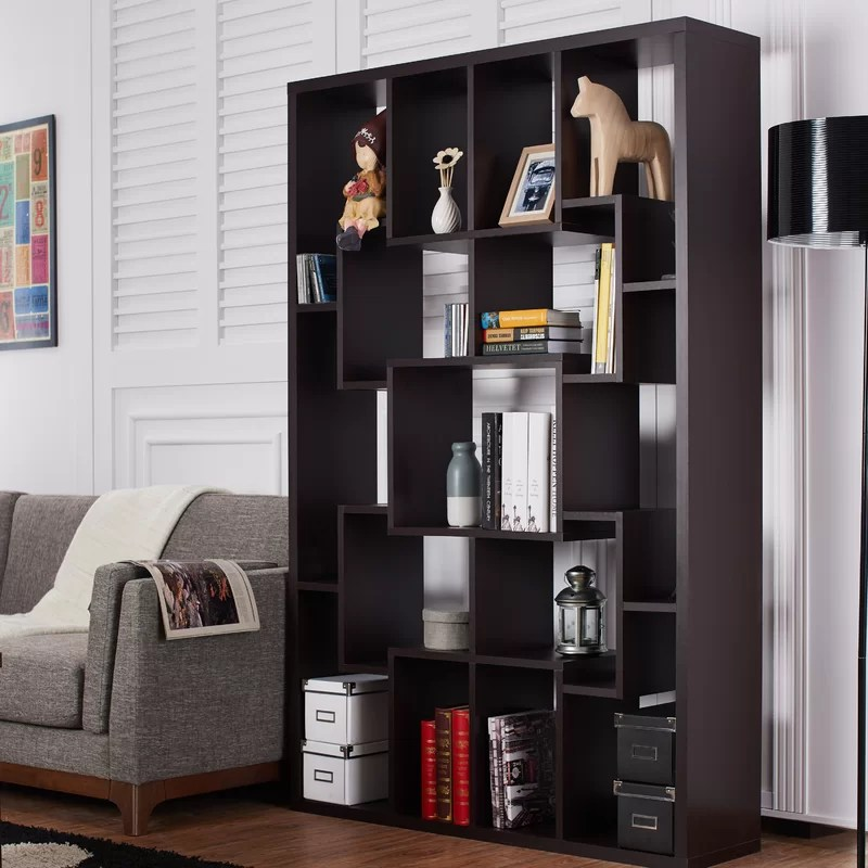 Lancashire Geometric Bookcase