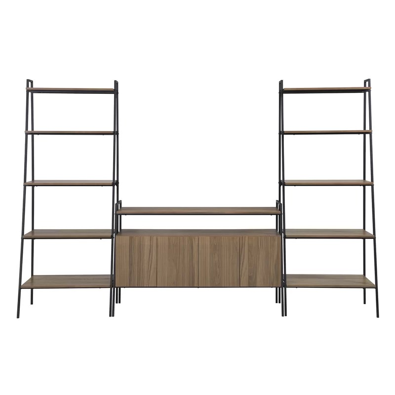 Tall Entertainment Stand With Drawers