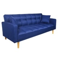 This sectional introduces a touch of texture to your interior design, while solid wood legs round out this piece with a nod to contemporary style.