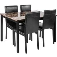 Nigol 5 Piece Breakfast Nook Dining Set