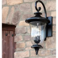 The elegant design of this exterior light fixture is somehow both classic and contemporary. The swirling lines and beautiful details of the piece lend it elegance and sophistication. Its neutral stone finish meshes well with a wide variety of color schemes.