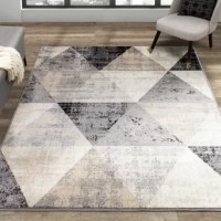 This product comes in simple and elegant patterns with a tasteful palette of cream, beige. The low pile is woven from polypropylene fiber, offering luster and stain-resistance.