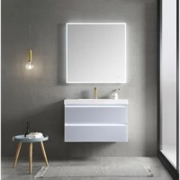 This led to lighted vanity with a modern elegant design that is perfect for a modern bathroom and offers easy access to the bathroom during night time.