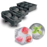 Perfect spheres of ice every time: The sturdy plastic construction, leak-proof design, and water Fill line make this ice tray foolproof and without messy water drips. The flexible silicone ice mold lids make it easy to open the mold and to remove the ice spheres from the tray. Made from durable, food-grade materials that do not contain any BPA and are dishwasher safe, these are the best sphere ice molds available. The high quality makes them perfect for commercial use in restaurants and bars...