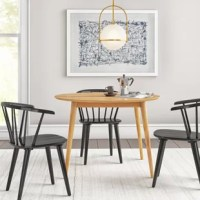 Antony Solid Wood Dining Table