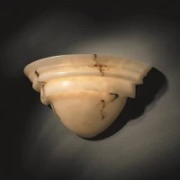 The Keyon Collection of faux alabaster fixtures provides the warmth and glow of genuine carved alabaster without the cost