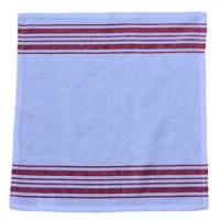 Whether entertaining friends or sitting down for family dinners, cloth napkins elevate any meal into a special occasion. Our 19 in. Red Vintage French Stripes Cotton Napkins 6/pack, offer a clean, refined look and soft touch, perfect for home and entertaining. 100% cotton. Machine wash cold; lay flat or hang to dry. Iron if needed.