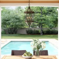 The is a vision in beveled glass. These charming lanterns are subtle enough to enhance your decor without overshadowing it. Elegant and refined, these suspended lanterns will complement any space.
