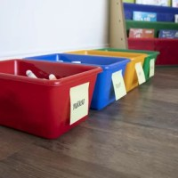 The Replacement 4 Piece Plastic Bin Set is perfect for storing your kid's toys or replacing the old baskets on your toy organizer. It is a set of four separate bins made from polypropylene plastic, which makes it lightweight, sturdy, and durable. This Replacement 4 Piece Plastic Bin Set from Viv + Rae can accommodate a lot of toys. It is also stackable, making it easy to carry around. These non-toxic toy bins do not deteriorate its quality as they are insect and rot-resistant. You can also...