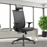 Home Office Multi-Function Ergonomic executive chair with adjustable PU headrest, lumbar support, and adjustable armrest, promote an ergonomically correct seated position. Ergonomic chair with adjustable seat sliding and seat depth are to fit your comfortable gesture. It offers 3-positions locking to fit leisure work and rest. Five reinforced nylon casters on aluminum alloy base which offer you the ability to easily glide over carpeted floors are naturally performing tasks without exertion.