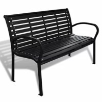This garden bench can be used wherever hard-wearing and weather-resistant, yet comfortable seating is required. Applications include parks, school playgrounds, colleges, etc. The garden bench can be easily bolted to the floor. This 3-seater garden bench is a good choice for any garden or outside space.