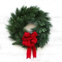 This wreath is the perfect statement piece for the front door, wall, or above the mantle in your home.