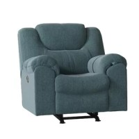 The Parkville Recliner was designed to marry style with classic comfort. The shapely, padded wing extends over the arm to increase the area of the soft, supportive back cushions - perfect for lounging. This recliner features a divided back cushion and all of its surfaces are padded, including the arm and the full chaise footrest. The Parkville Recliner will cradle your body for optimal comfort and its comfortable features will be hard to resist in any room designed for relaxing.