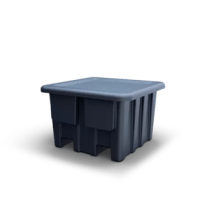 This heavy-duty bulk container is designed to suit virtually any type of application with its firm non-slip grip and secure hold, even while rotating up to 180 degrees.
