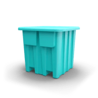 This heavy-duty bulk container, taller than the P340, is designed to suit virtually any type of application with its firm non-slip grip and secure hold even while rotating up to 180 degrees.