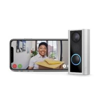 Replace your peephole with a smart, compact HD camera that adds security and convenience to any doorway. Peephole Cam sends you mobile notifications when anyone presses its built-in doorbell button, knocks on the door or triggers the motion sensors. Answer the notification, and you can see, hear and speak to people at your door from anywhere. This product is simple to install and comes with the only tool you need to set everything up in minutes. And it works on any house, apartment, condo, dorm...