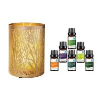 Moisturizes air & skin with Aromatherapy. The tree-like design is the perfect accent for any room. This luxurious diffuser is great for aromatherapy as well as enhancing your home decor. The ultrasonic transducer vibrates at a steady and high frequency that makes the molecules of water and the essential oils so tiny that it is easily absorbed by the body. This creates the negative ions that moisturize the air & your skin allowing you to enjoy the aromatherapy effectively. Three to five drops of...