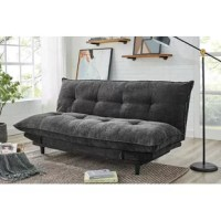 Enjoy extra versatility with the click clack sofa bed. Able to be folded down into a bed, to ensures you'll always have a place for guests to sleep.