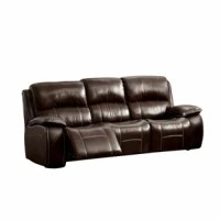 You will cherish the flexibility of this leaning back sofa. Besides the prevalent comfort and unwinding this sofa gives, its tweak capable plan effortlessly adjusts to fit your home enhancing needs. It features plush cushions, split-back design and pillow arms that provide superior comfort and relaxation. The sofa comes equipped with a lift-top storage unit and built-in cup holders.