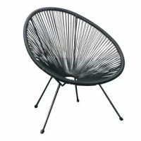 The package comes with 2 chairs. Based on time-honored Mayan hammock weaving technology the Lounge chairs are an indoor/outdoor lounge chair that unifies tradition with innovation and harmonizes the function of ergonomic comfort with retro-modern aesthetic form. The lounge chair is in every way cool. Its weave perfectly cradles the body within its clean lines without suffocating and offers a character of casual sophistication to every home or institution.
