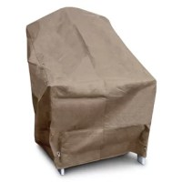 The KoverRoos® outdoor chair cover is the ultimate in furniture protection. The material, design, and construction are simply the best on the market. Outdoor furniture covers need to breathe so that moisture can escape, keeping mold and mildew from developing under the cover. Koverroos® use technologically advanced materials that are one-way breathable - so moisture can evaporate right through the fabric, but water, dust and dirt can't get in. Koverroos® covers are stronger than most vinyl...