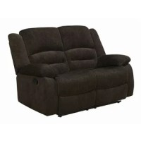 Enjoy comfortable lounging on ultra soft chenille and triple channeled fiber filled back cushions with this collection. Also features motion reclining, a wood frame and plush back cushions for great lumbar support.
