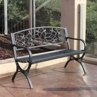 This Patio Bench will never disappoint you. They are the best ideal for both residential and commercial location. This product will definitely match any of your outdoor, patio and garden.