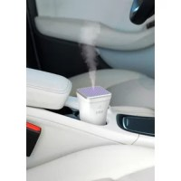 Take a relaxing aromatherapy experience with you, wherever you go. The sleek, modern design is the ideal shape for car cup holders so you can freshen the air and lift your mood during your commute. The versatile design also makes it a great personal aroma diffuser for your home or office. It provides up to 4 hours of a personalized aromatherapy experience and then safely shuts off when the 50mL water tank is near empty. It is backed by industry-leading 5-Year Warranty so your satisfaction is...
