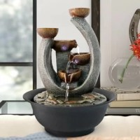 Dimension: With the size 7.87*7.87*11inch(L x W x H), makes the indoor table fountains a perfect tabletop decoration for room or office.